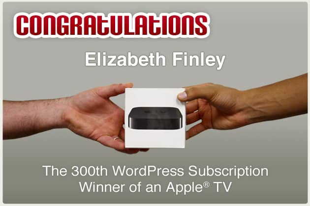 We have a winner for the Apple® TV