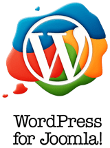 WordPress for Joomla logo