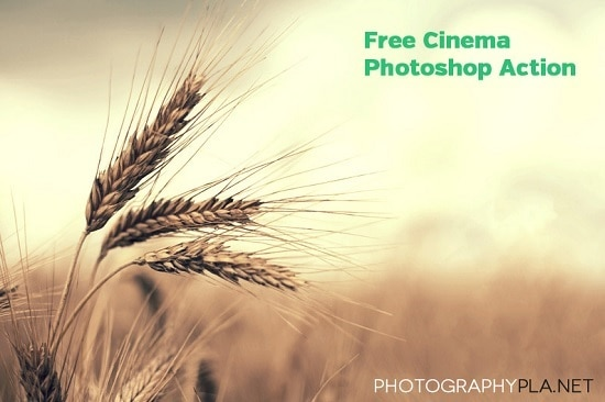 free-cinema-photoshop-action
