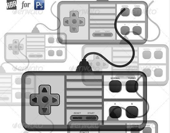 game-console-brush