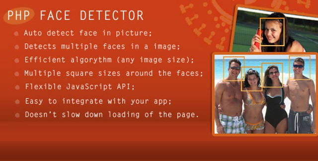 PHP Face Detector