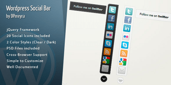 wordpress-social-bar