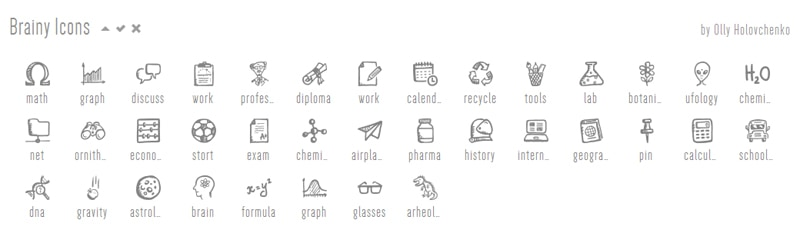 Brainy Icons