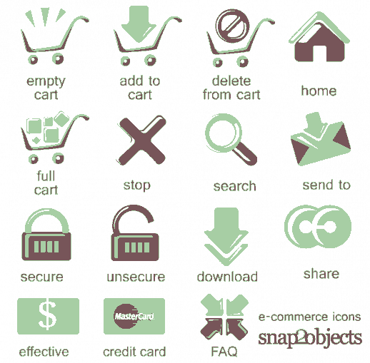 Free eCommerce Vector Icons