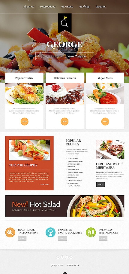 European Bar Joomla Template