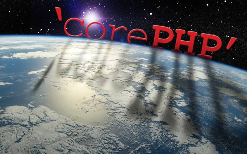 all new 'corePHP' website