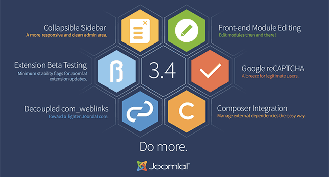 Joomla 3.4 - Do more.