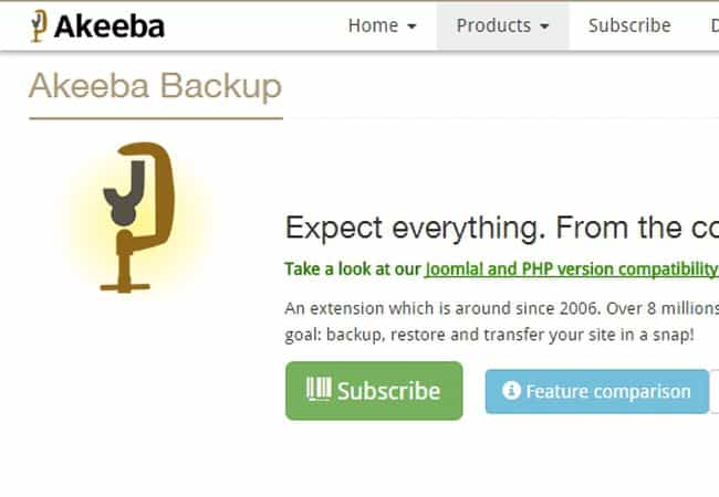 Akeeba Backup - Free Joomla Extension for beginners