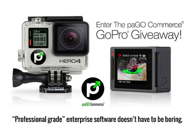 paGO Commerce GoPro Giveaway