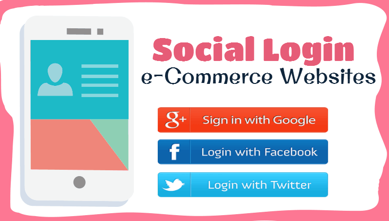 social login e-commerce websites