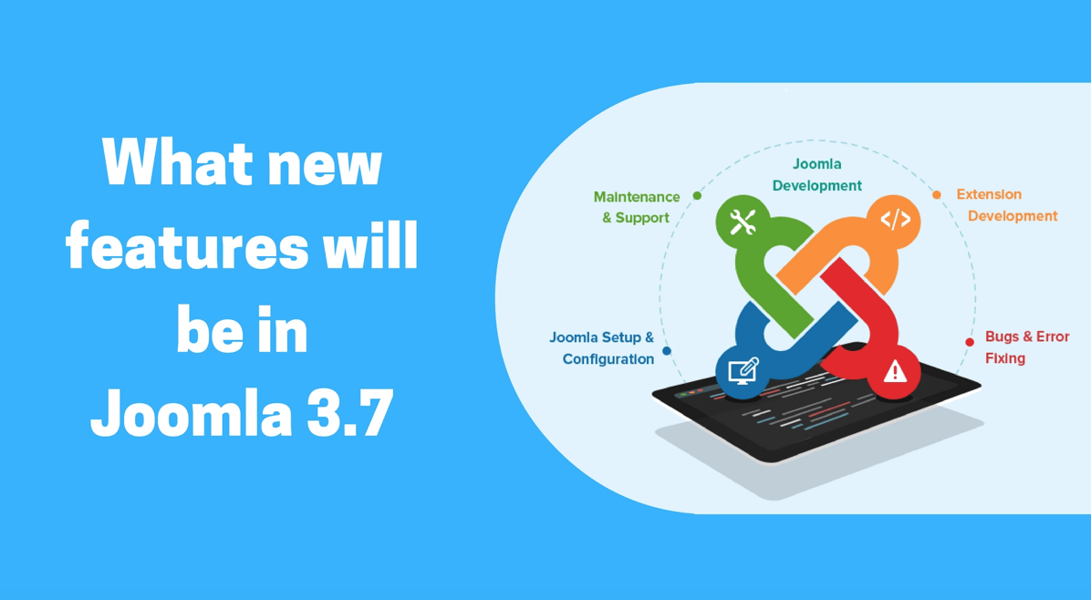 joomla 3.7 Features