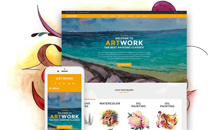 Sculpture Responsive WordPress Theme