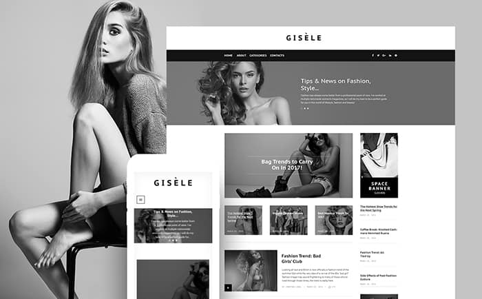Womens Fashion Blog WP Theme