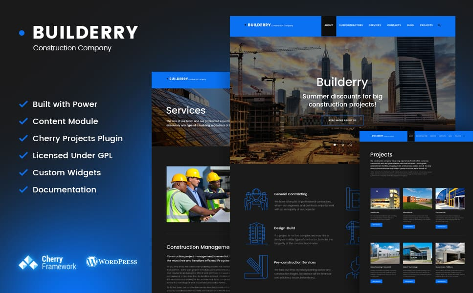 tion WordPress Theme