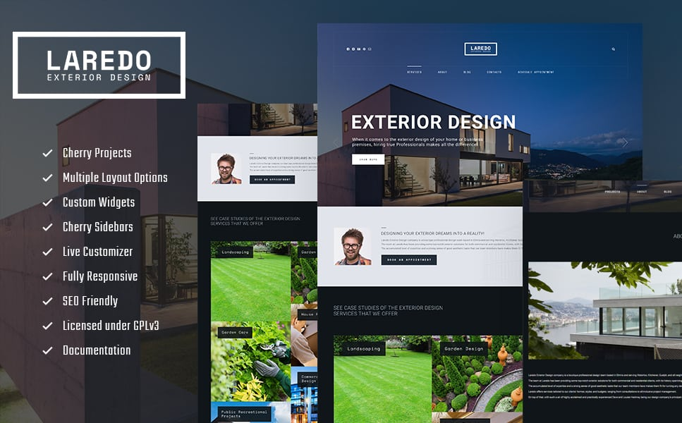 Design Company WordPress Theme