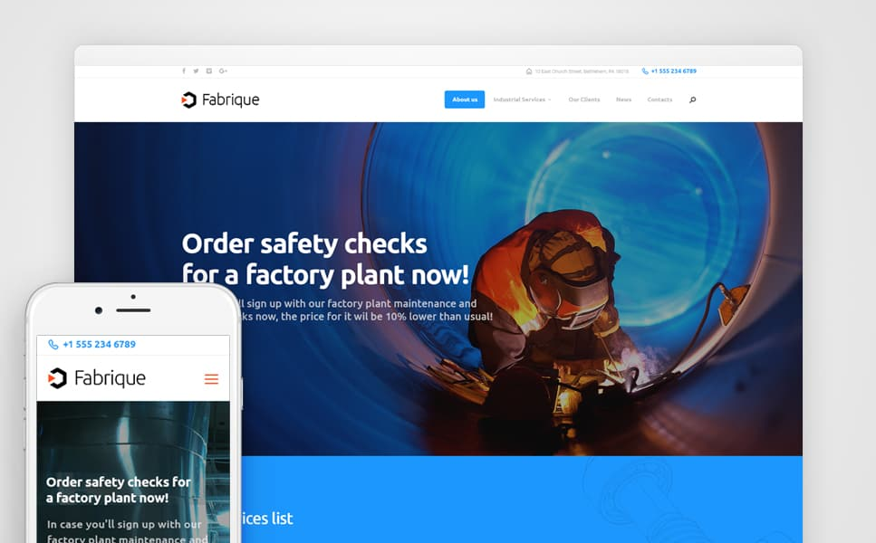 al Factory WordPress Theme