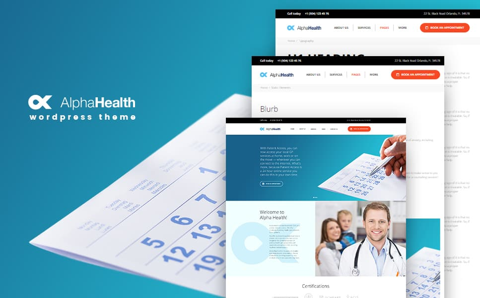 ealth Counselor WordPress Theme