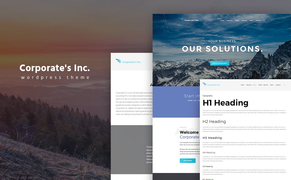 nt Advisor WordPress Theme