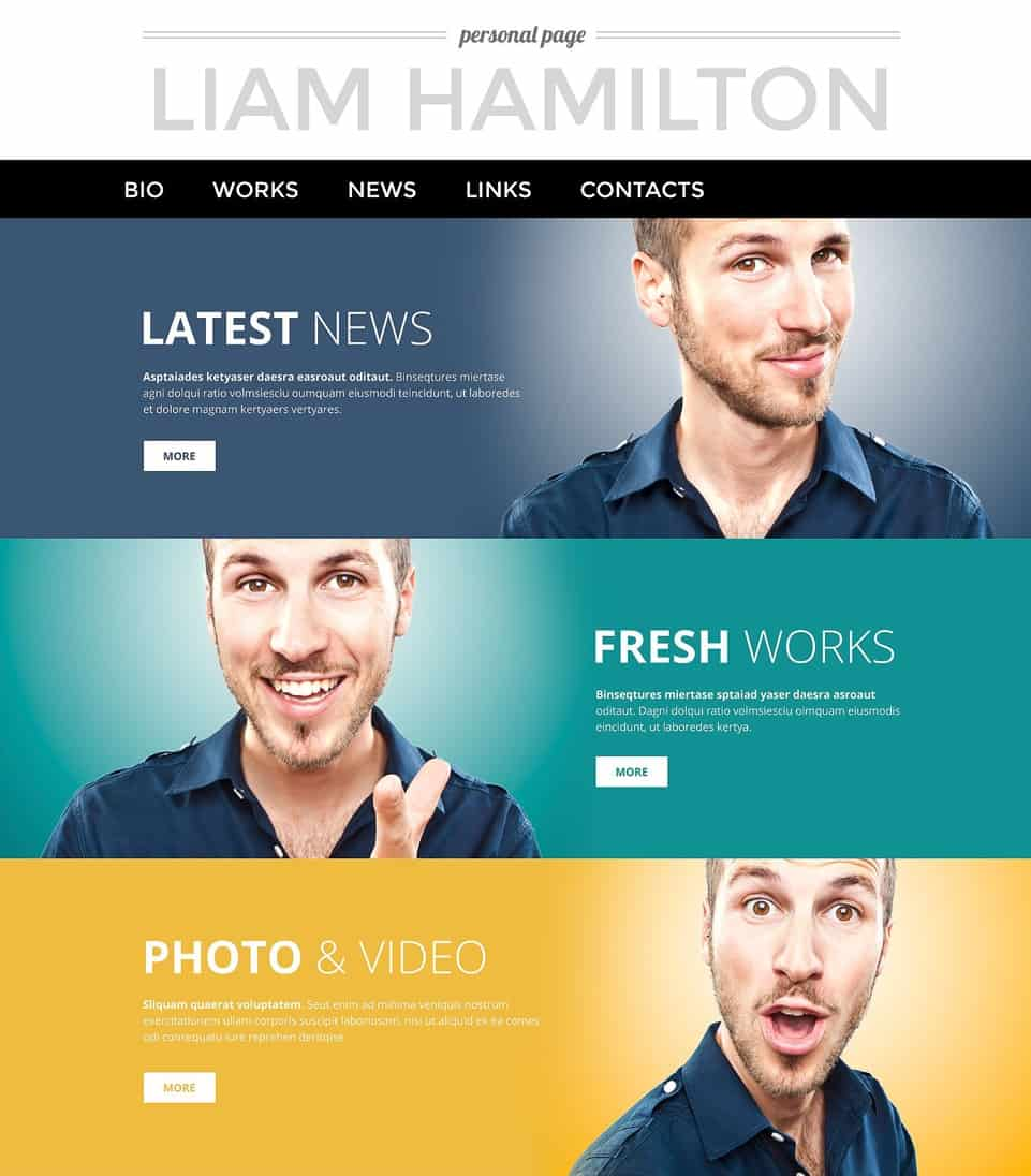 Page WordPress Theme