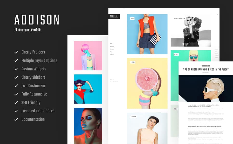 pher Portfolio WordPress Theme