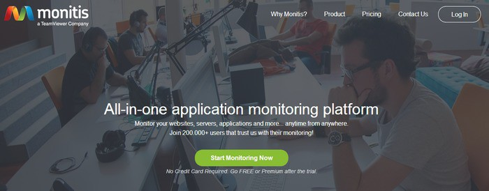Uptime and downtime website monitoring tool
