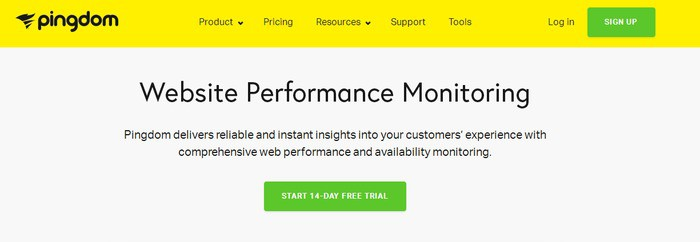 pingdom wordpress plugin monitoring service