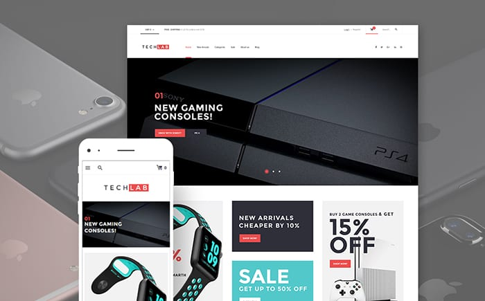 TechLab - Innovative Electronics Store WooCommerce Theme