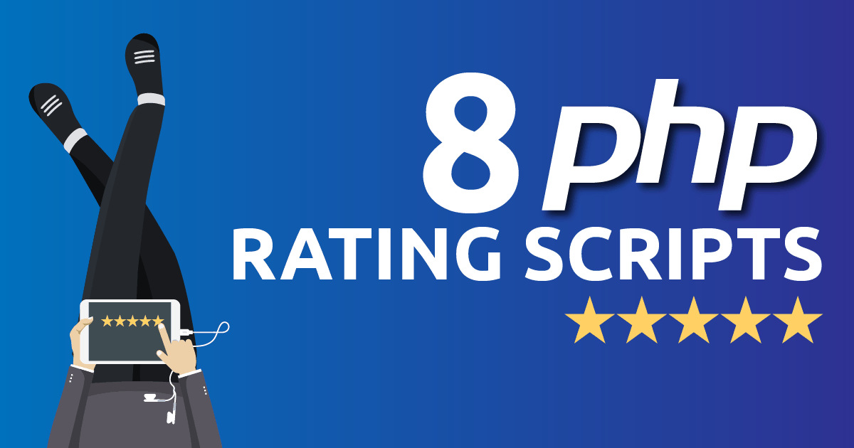 Top 8 php Rating Scripts For Developers