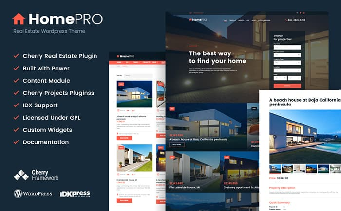 Real Estate Broker WordPress Theme