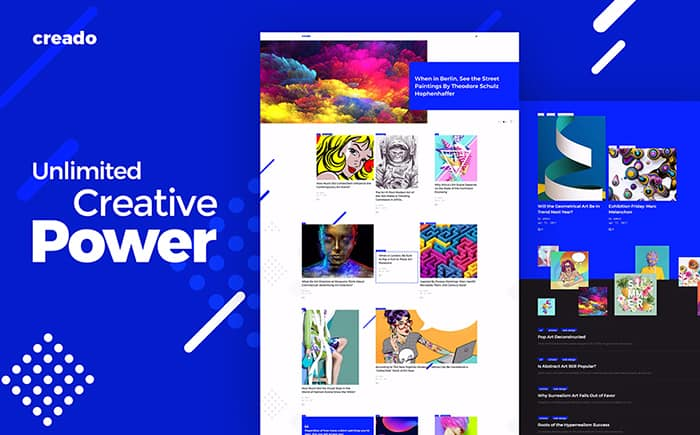 Artist Portfolio & Awe-Inspiring Gallery WordPress Template
