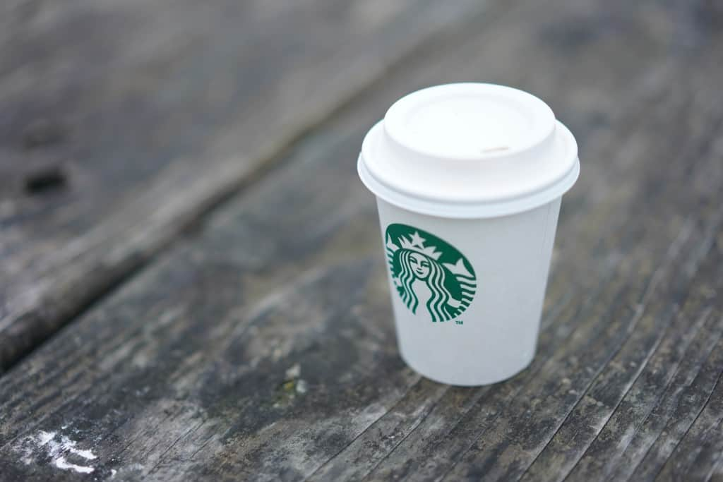 Starbucks coffee cup rebrand