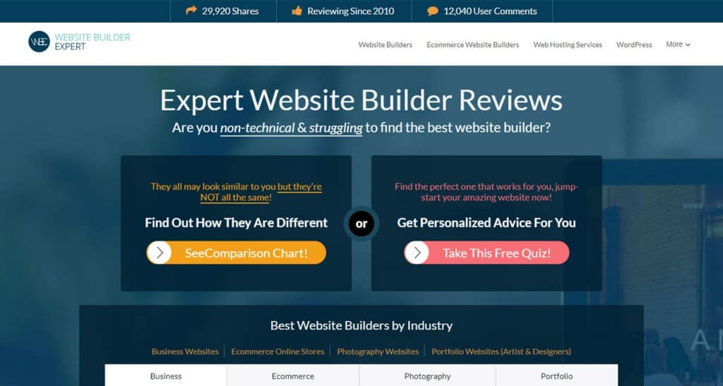 website-builder-expert