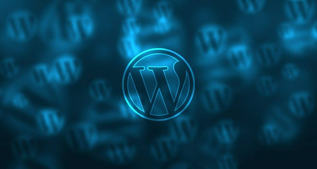 cool wordpress development logo
