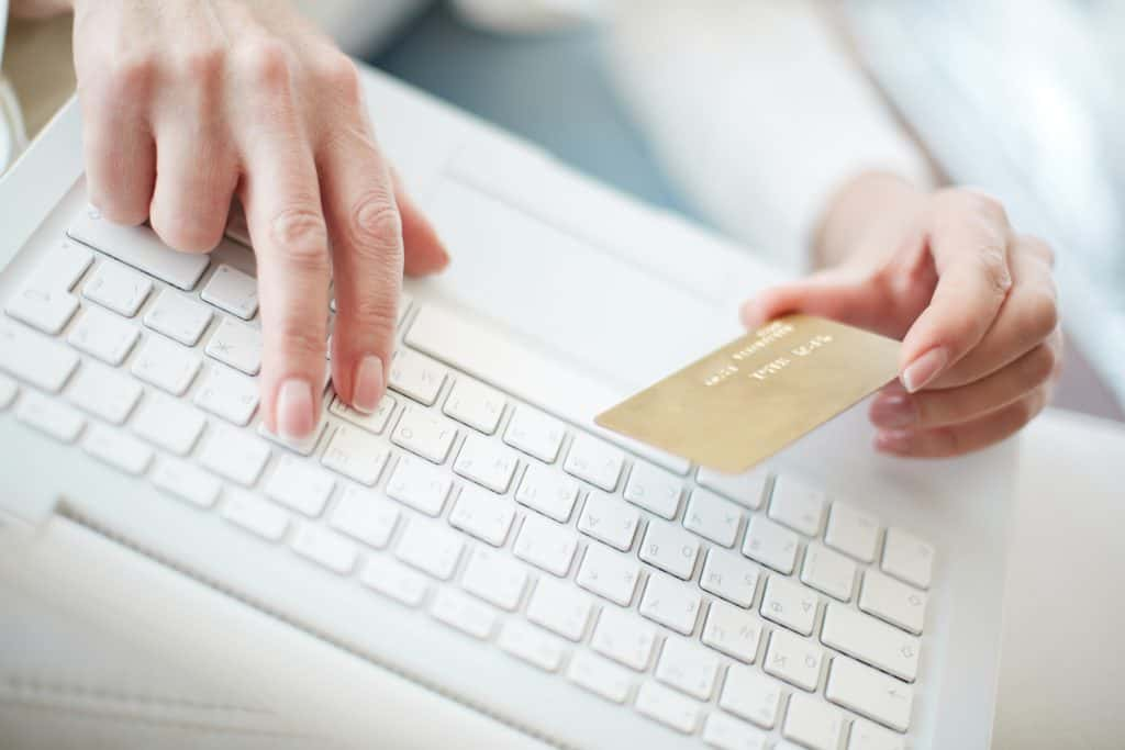 Buying online on a Joomla ecommerce store