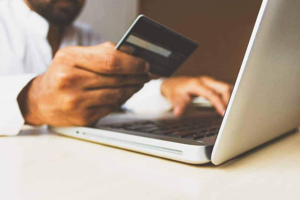 Credit Card payment online