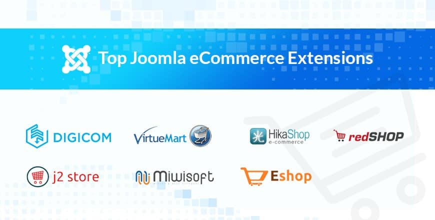 Top Joomla ecommerce extensions