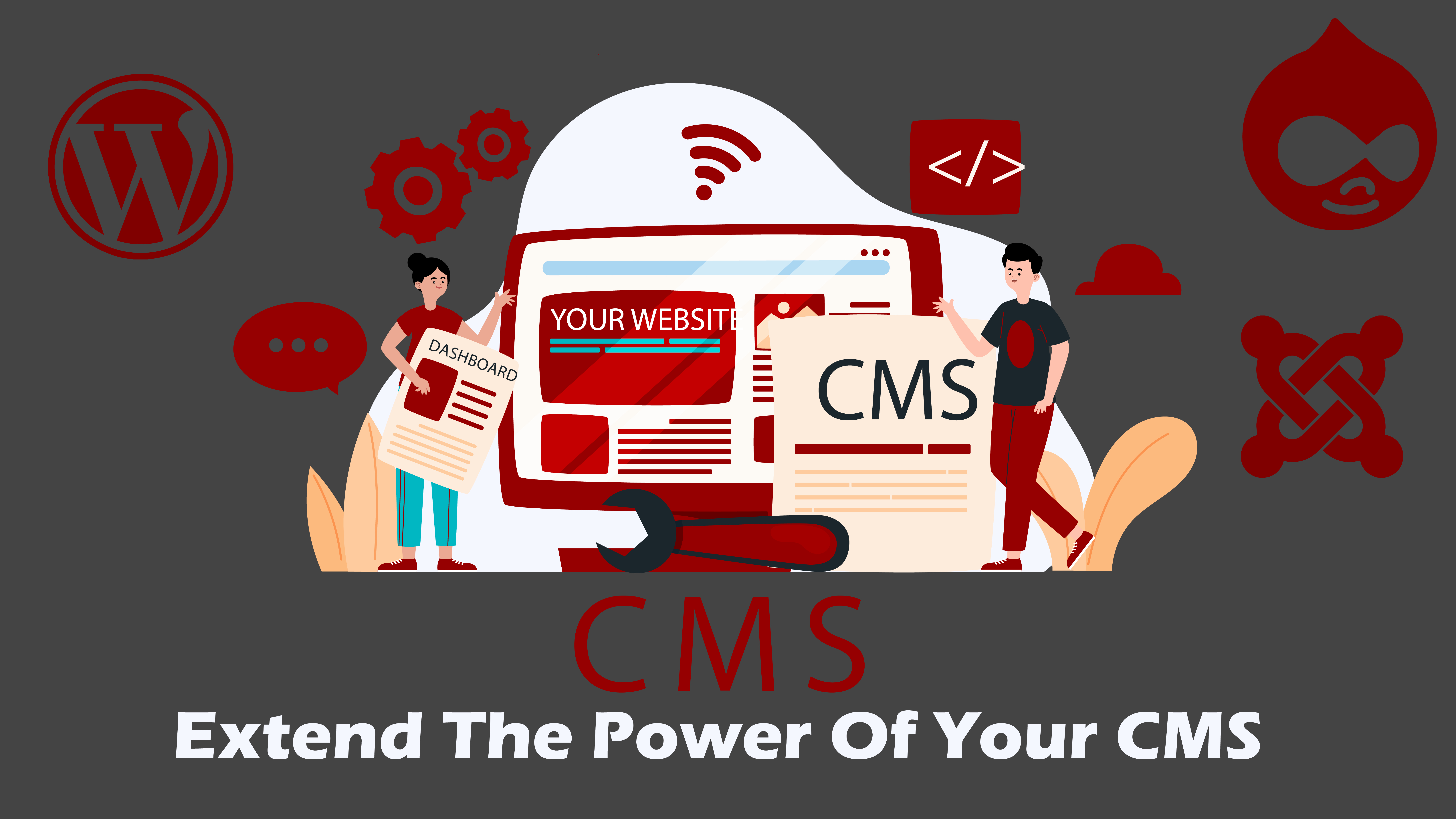 Custom extensions, widgets, modules for Joomla, WordPress and Drupal – make your website more powerful