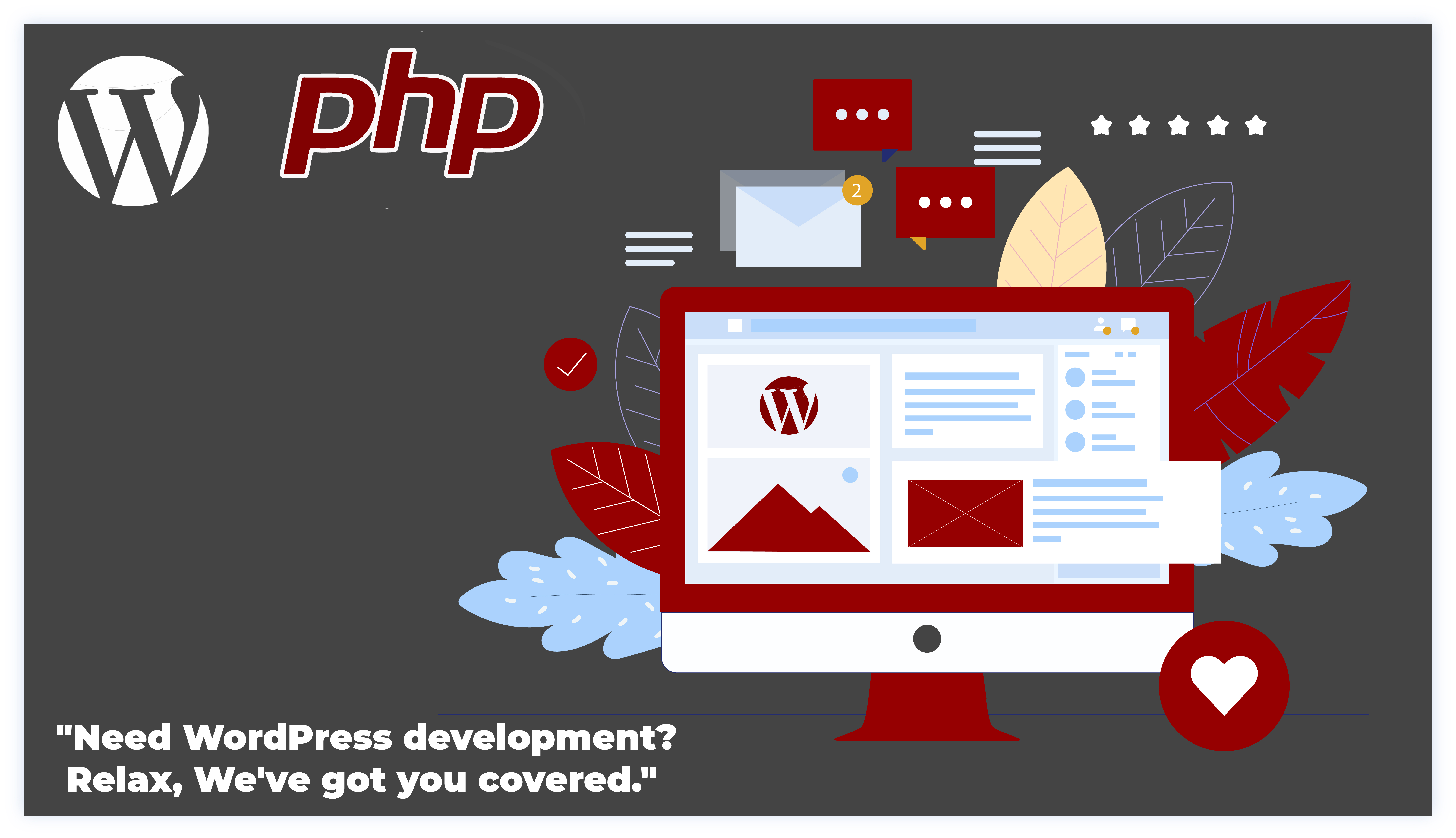 Relax, 'corePHP' handles WordPress Development – People relaxed with a good WordPress website