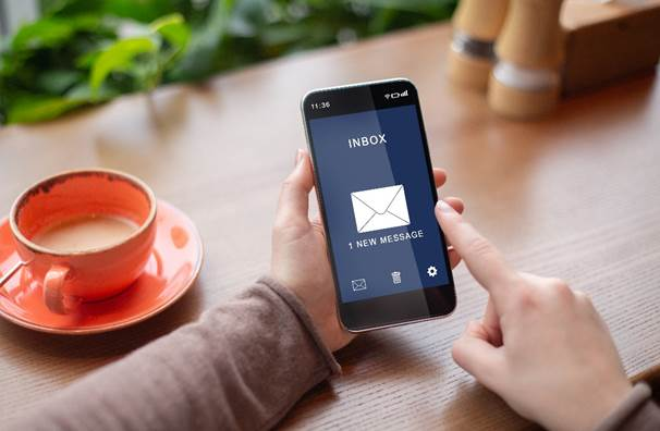 Reach new and existing customers with email marketing – 'corePHP' Mailchimp development – email successfully reaching customer's inbox