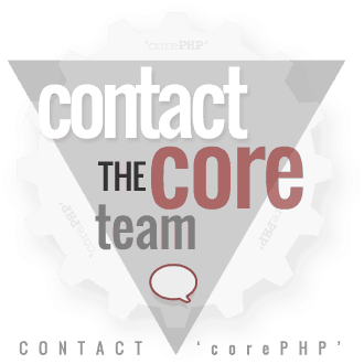 Contact the core team