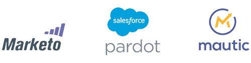 Marketing Automation integrators -  Salesforce Pardot, Marketo and Mautic
